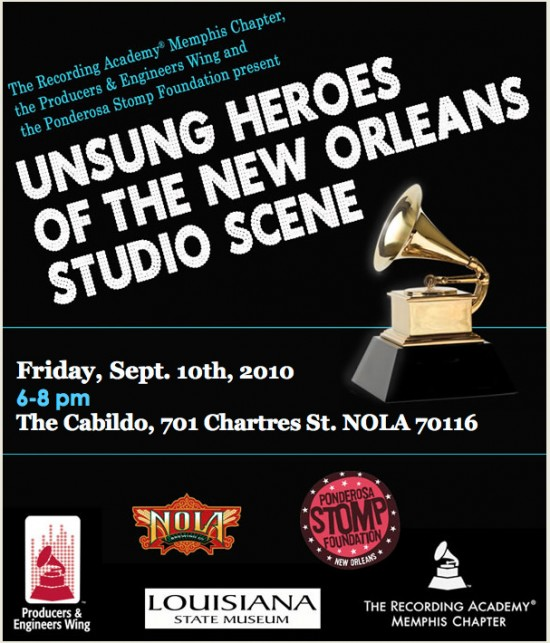 Unsung Heroes of the New Orleans Studio Scene