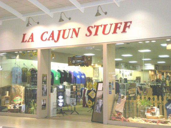 LA Cajun Stuff at the Southland Mall in Houma, your source for swamp-pop, Cajun, and zydeco music.