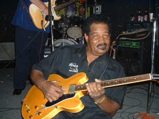 Ex-Slim Harpo guitarist James Johnson plays at Phil Brady's nightclub in Baton Rouge circa 2003. He'll be at this year's Ponderosa Stomp as part of the Excello revue.
