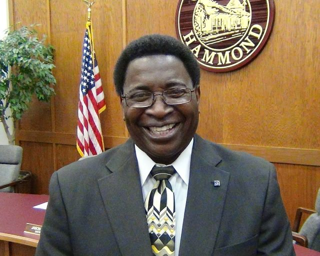 George Perkins as a Hammond City Councilmen