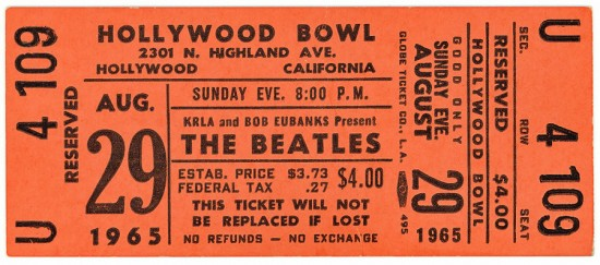 HollywoodBowlTicket1965a
