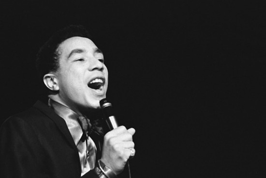 Smokey Robinson, triple-threat singer, songwriter, and producer.