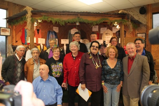 A recent reunion at Ville Platte's Swamp Pop Museum, featuring a who's who of the originators.