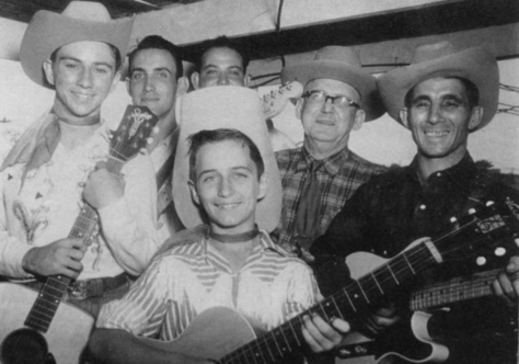Rod Bernard with the Blue Room Gang, 1950
