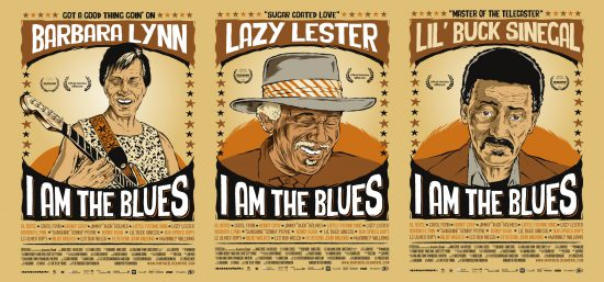 I am the Blues Posters